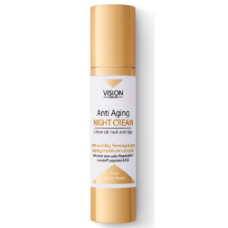 Ночной крем для лица Vision SkinCare - восстанавливающий, питательный, увлажняющий, омолаживающий с лифтинг эффектом